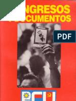 Libro de Los Congresos Del Pcu