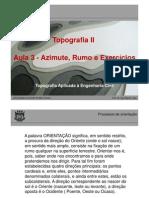 Fot 5061aula 3 - Exebcicios Azimute e Escala PDF