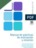 MANUAL DE PRÁCTICAS DE MOTIVACIÓN Y EMOCIÓN