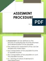 Assesment Procedure
