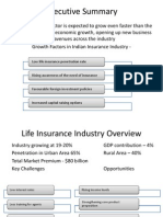 Industry Overview and Product Types of Insurance Sector