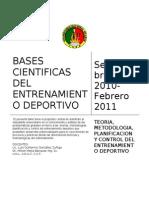 SPORT Bases Cientificas Del Entrenamiento Deportivo
