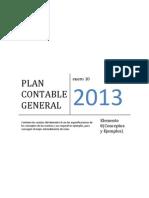 Plan Contable General Elemento 8 (Conceptos y Ejemplos)