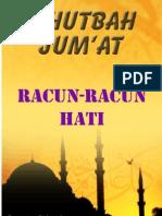 Khutbah Jum'at 10-Racun-racun Hati
