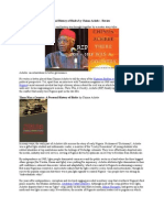 There Was a Country a Personal History of Biafra by Chinua Achebe Review