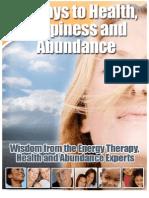 109697255 15 Ways to Health Happiness and Abundance