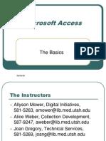 Access Basicsaccess