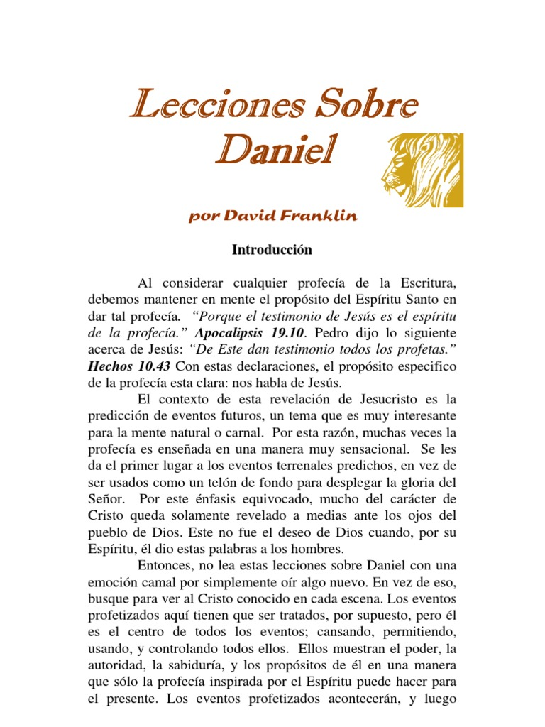 Daniel David Franklin 118