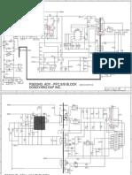 Diagrama de Fuente de Alimentacion TV LCD Samsung BN44-00338B
