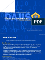 Department of the Army Intelligence Information Services
