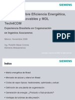 14_Cogeneracion Ing Azucarero SiemensTECH4CDM_MXnov09