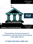 29 Introduction to Lean Manufacturing