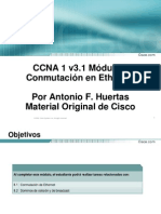 Comnutación Ethernet