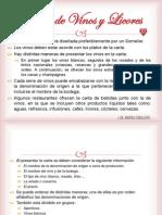 6. Planeación del Menú y la Carta de Vinos 2