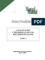 Manual de Capacitacion .Tomo i, 1ra. Parte (1)