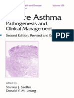 Severe Asthma-Pathogenesis and Clinical Management