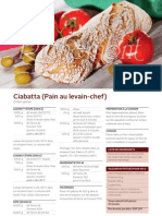 R0612 Ciabatta (Pain Au Levain-chef)