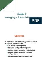 Chapter 09 - Managing Cisco IOS