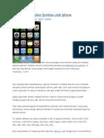 Mengubah Tampilan Symbian Jadi iPhone