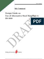 Draft StructuralSteel DesignGuide