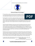 i Announcement Issue 1121 Amended - Universal Value Exchange {UVE}