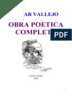 Cesar Vallejo - Obra Poetica Completa
