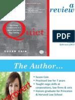 Book Review-Susan Cain_Quiet