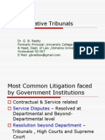Administrative Tribunals