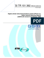 Transmission Distance Count Theory for GSM