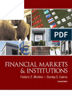 Cover & Table of Contents - Financial Markets and Institutions (7th Edition)