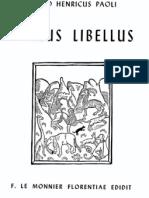 Paoli - Varius Libellus