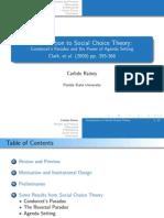 Social Choice Theory