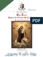 105337608 Programa Da Missa de S Jose