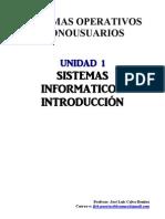 UT01 Sistemas Informaticos - Introduccion