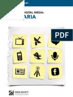 Bulgaria - Mapping Digital Media