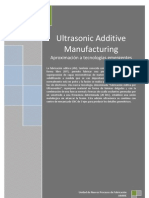 Aproximacion Al Ultrasonic Additive Manufacturing