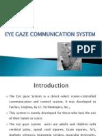 eye gaze