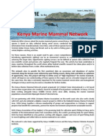 The Kenya Marine Mammal Network Newsletter. Issue 1