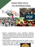 SOCIEDAD PERÚ EN EL CONTEXTO INTERNACIONAL