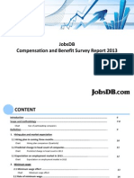 Jobsdb Compensation and Benefit Survey 2013