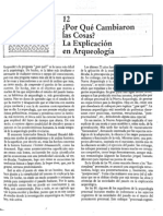 Renfrew and Bahn Arqueologia.teorias, Metodos y Practicas Capt 12