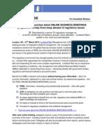 Lombard Risk regulatory ONLINE BUSINESS BRIEFING webinar Series