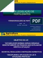 Legislacao de Fertilizantes