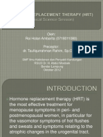 Terapi Sulih Hormon (HRT)