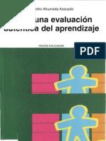 Ahumada, P. Hacia una evaluación auténtica del aprendizaje
