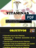 VITAMINAS-BIOQUIMICA