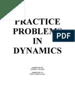 Dynamics Prob Set(Seph)