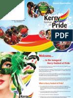 Kerry Festival of Pride Sponsorship Brochure