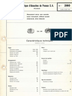 Catalog tehnic Peseux