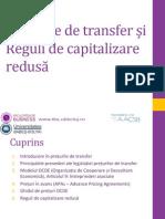 Preturile de Transfer Si Taxarea Internationala